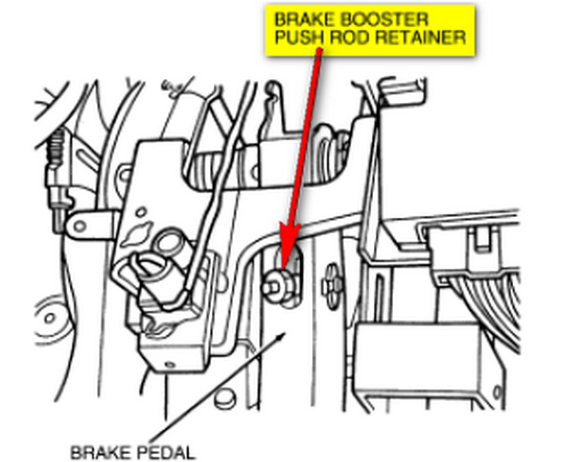 ford f700 brake system diagram i have a 95 contour and i am trying to remove the power ...