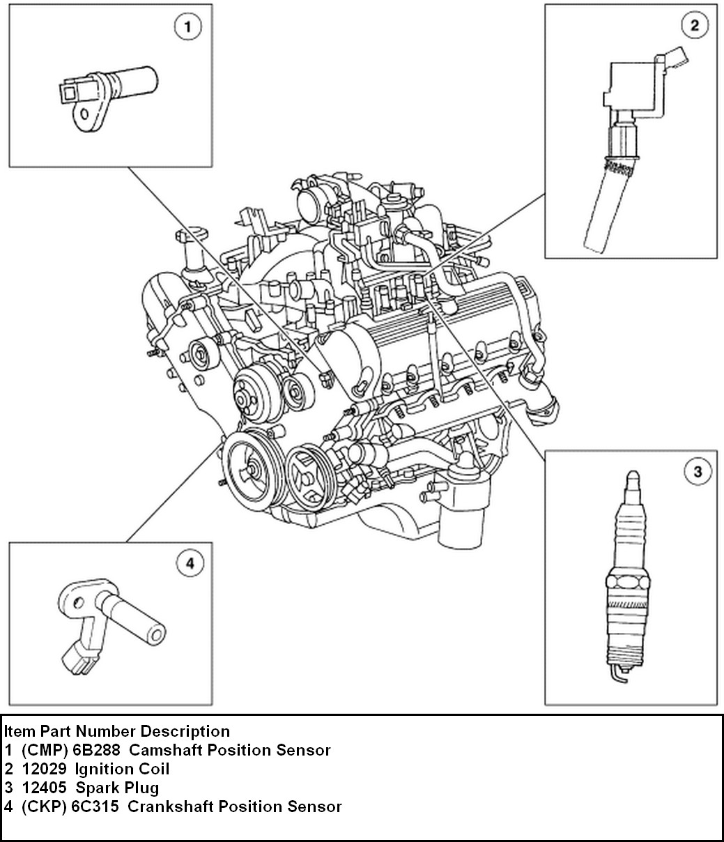 1998 Ford F150 4 6 Spark Plug Wire Diagram Autos Post