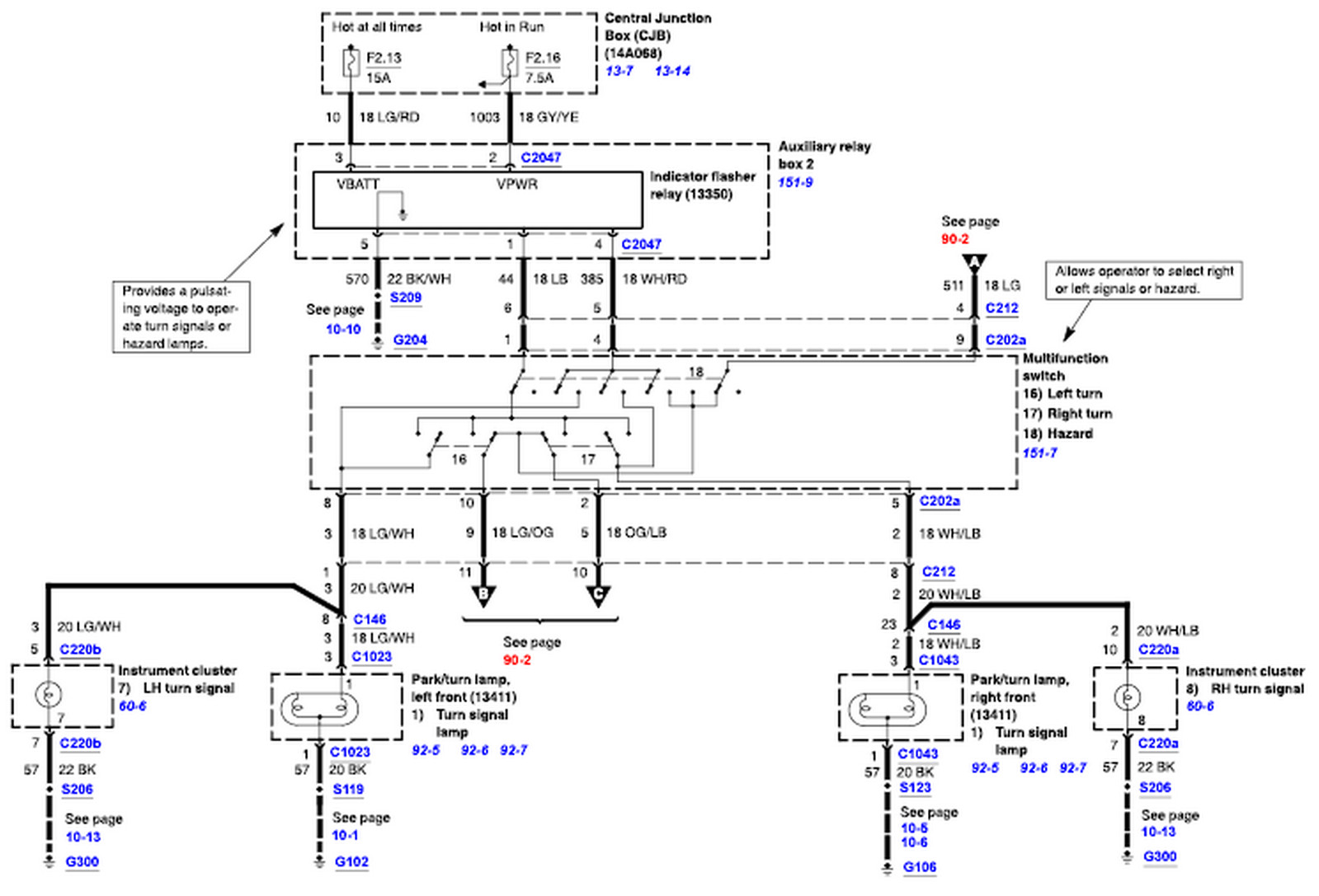 blinker wiring diagram  blinker  free engine image for