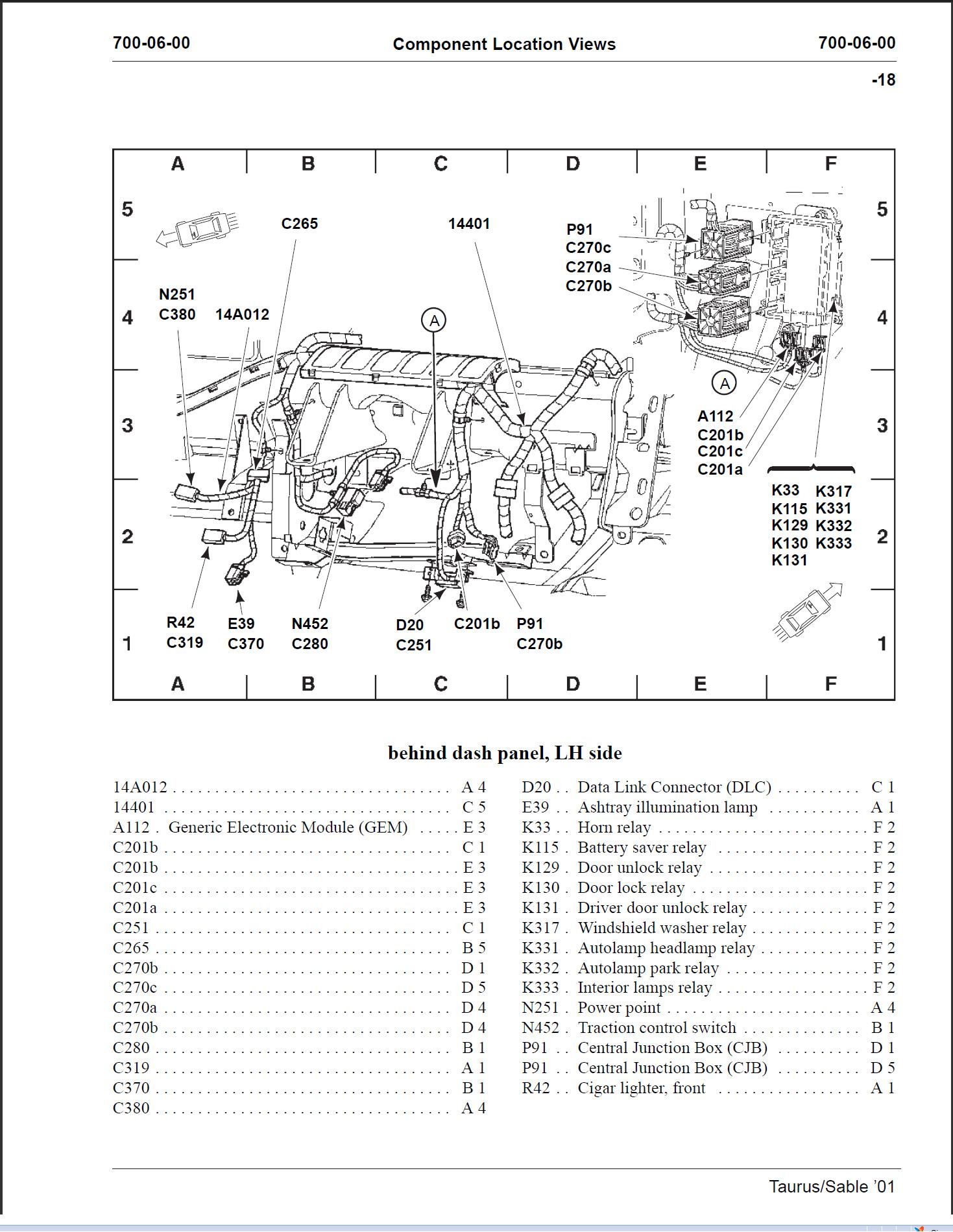 Wagon Rear Liftgate Unlock