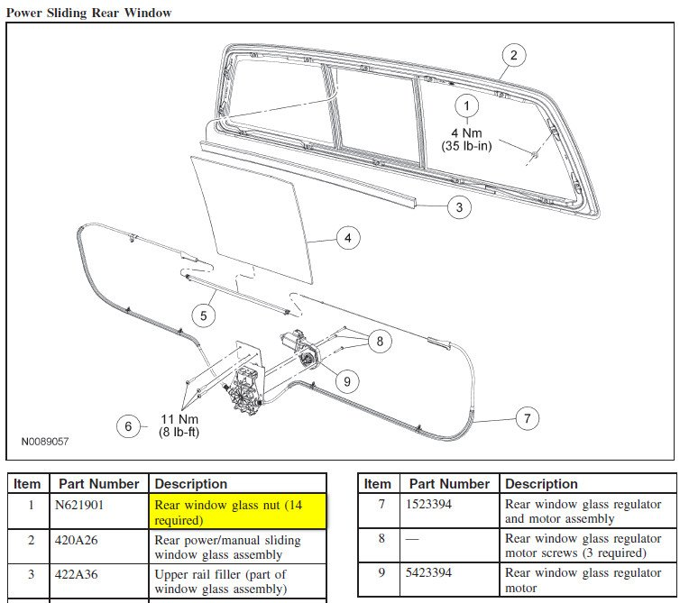 chevy silverado power sliding rear window autos post