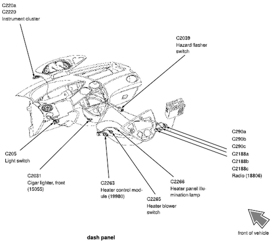 2003 ford focus svt fuse box diagram