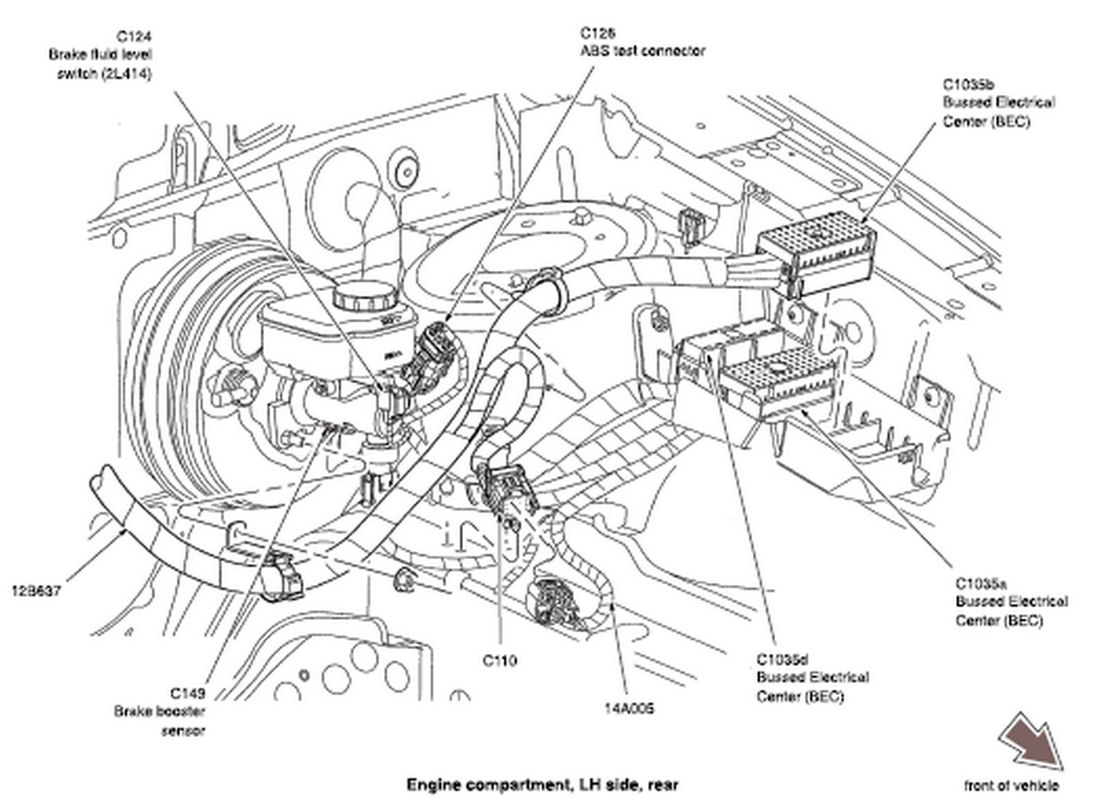 on 2005 Ford Freestar Engine Diagram