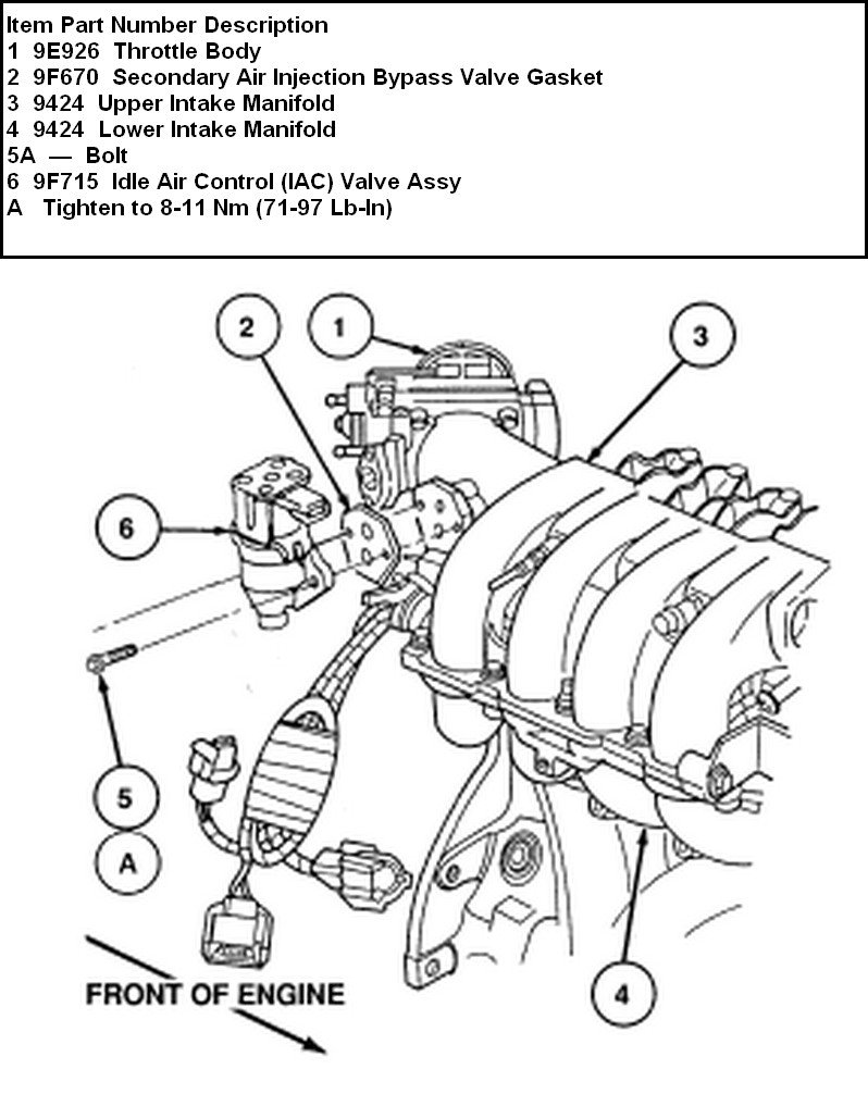 93 ford f150 engine diagram