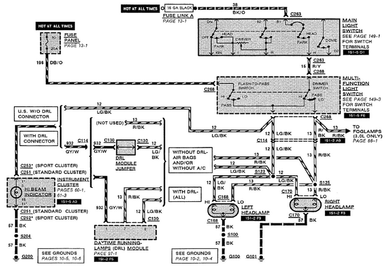 1994 Ford Tempo Engine Diagram bull Wiring Diagram For Free