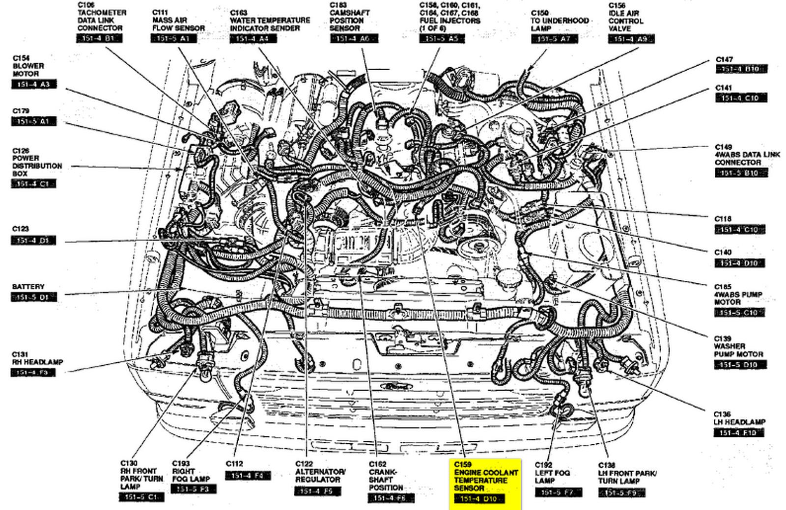 wiring diagram for 7 3 sel engine 94 with Ect Sensor Location 1999 Ford F350 Sel on Engine Diagram 1989 Ford 7 3l Sel also 7 3 Powerstroke Sel Engine Diagram furthermore Ford 6 7 Sel Engine Serpentine Belt Diagram further Ect Sensor Location 1999 Ford F350 Sel moreover 7 3 Idi Fuel Return Line Diagram.