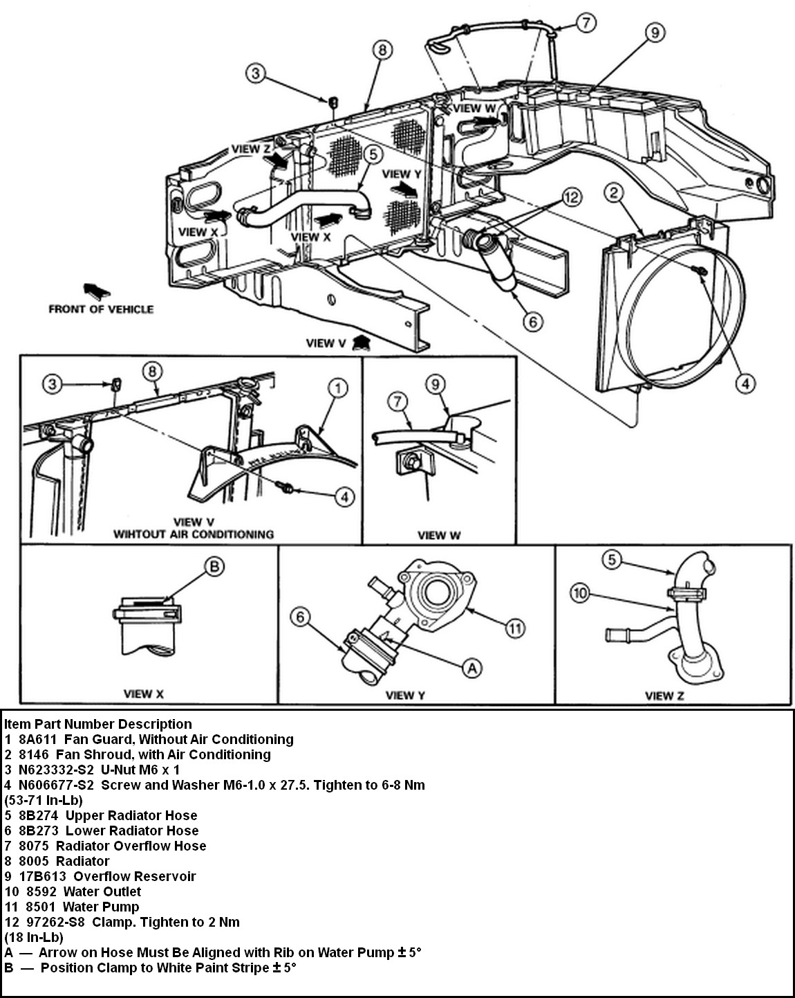 heater hose diagram ford ranger 2003 v6  heater  free