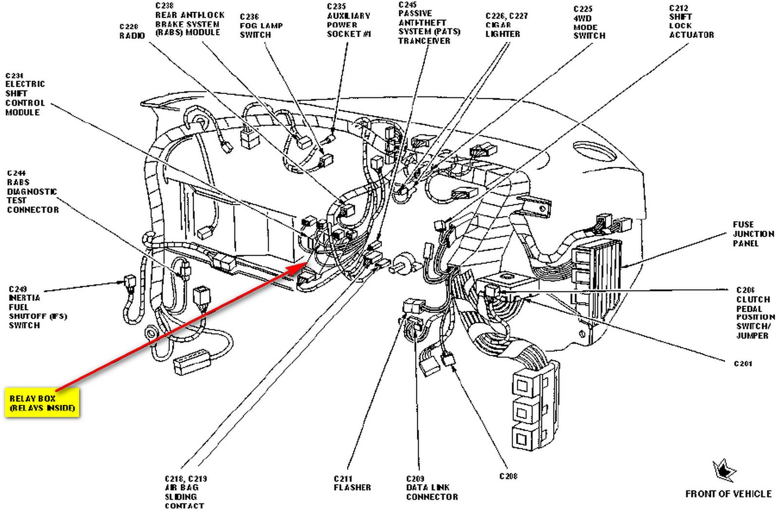 1bbr3 Find Wiring Diagram Tail Lights likewise Power Locks Not Working On 97 F150 Relays in addition Jeep Wrangler Rubicon Exhaust System Diagram further 1997 Honda Civic Cooling Fan Wiring Circuit Diagram further 1997 Infiniti Qx4 Wiring Diagram And Electrical System Service And Troubleshooting. on radio wiring diagram 1997 jeep grand cherokee