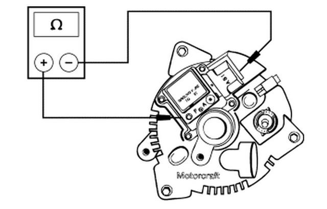 testing ford f150 alternator