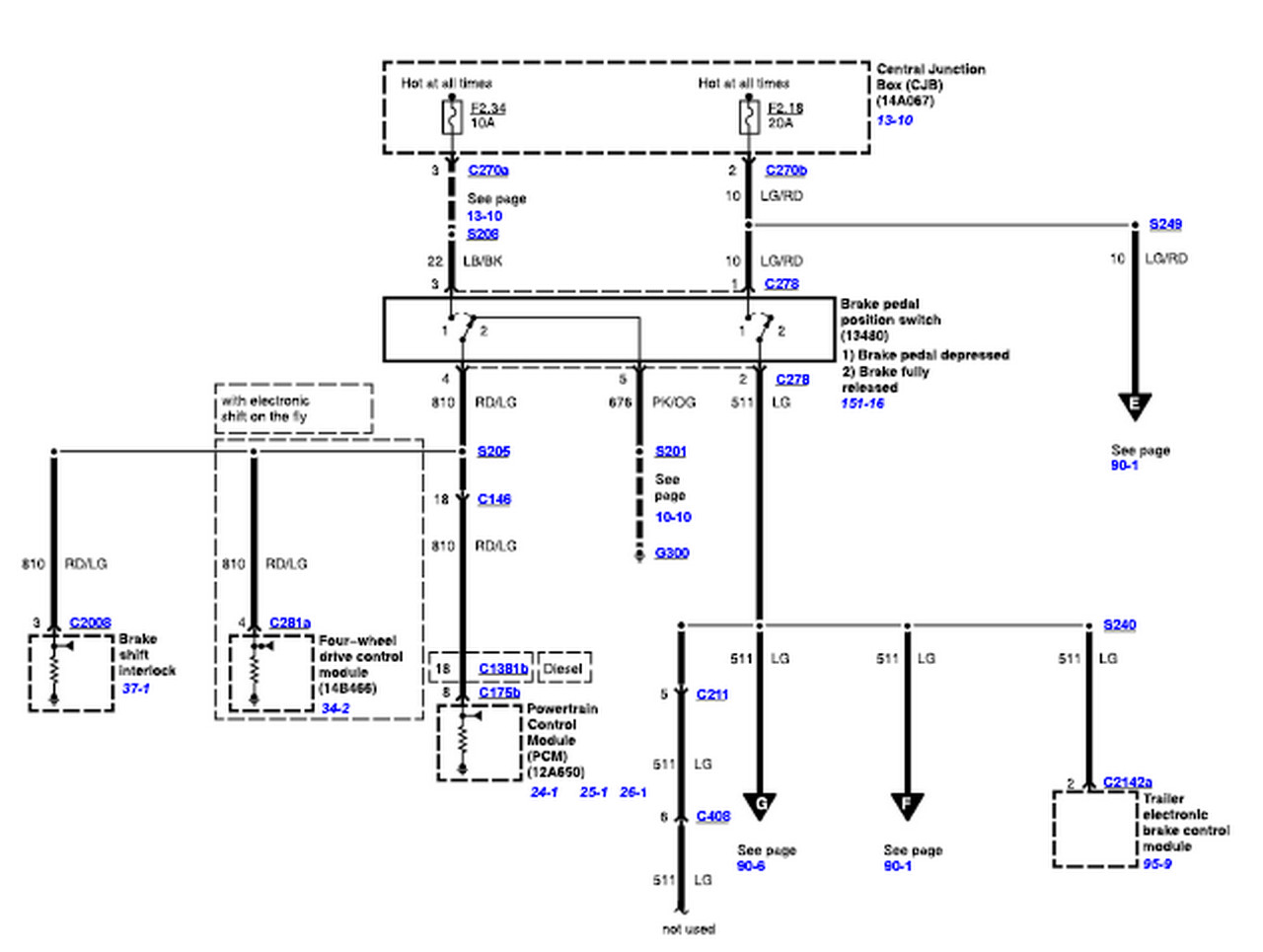 2006 Ford F 350 Trailer Wiring Diagram
