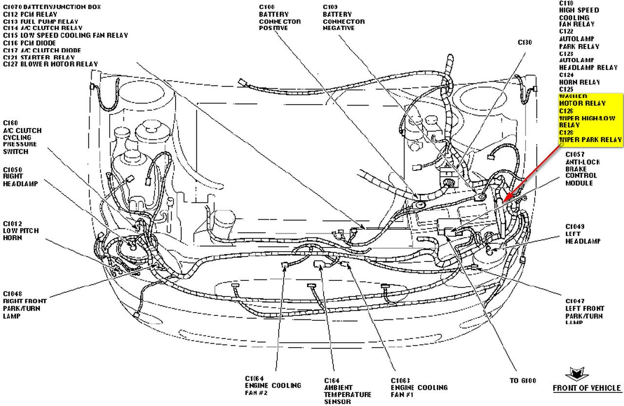 Wiper Motor Wiring Diagram For 1995 Windstar on 03 vw beetle headlight relay