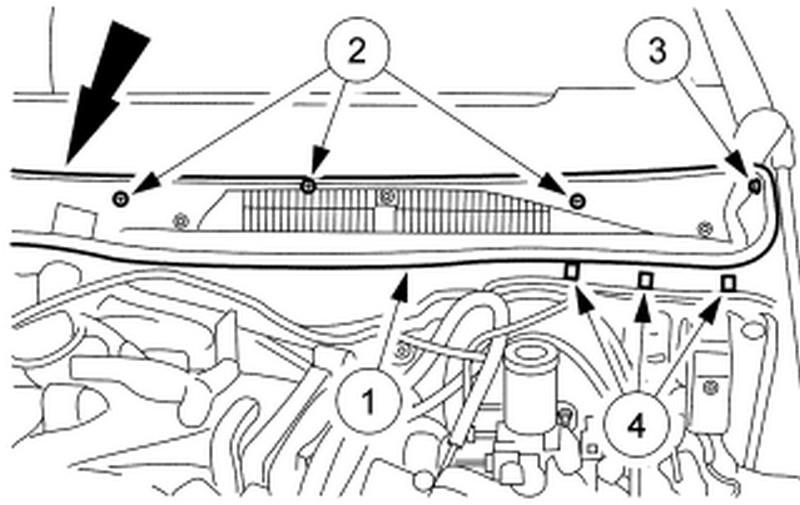 remove wiper cowl ford f150