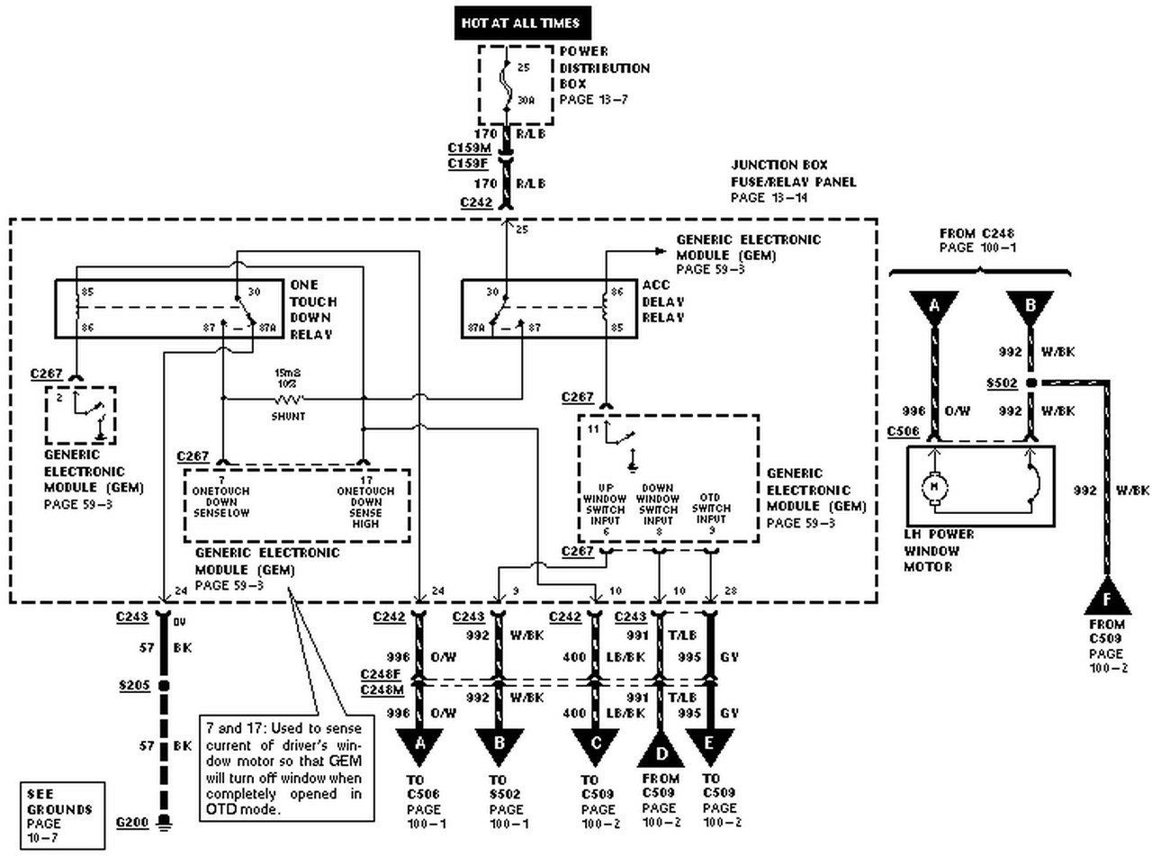 2008 ford expedition wiring schematic 2008 printable wiring 1998 expedition driver side window window works it it runs source · 2006 ford expedition wiring diagram