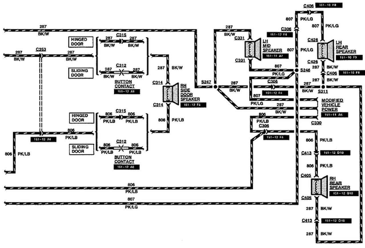 Radio Wiring Diagram Ford E350