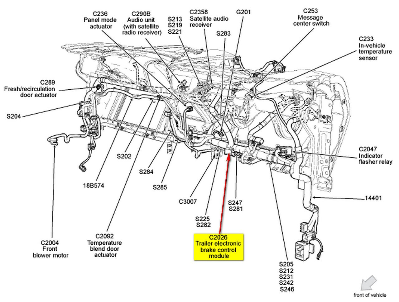 2009 f150 trailer brake controller diagram