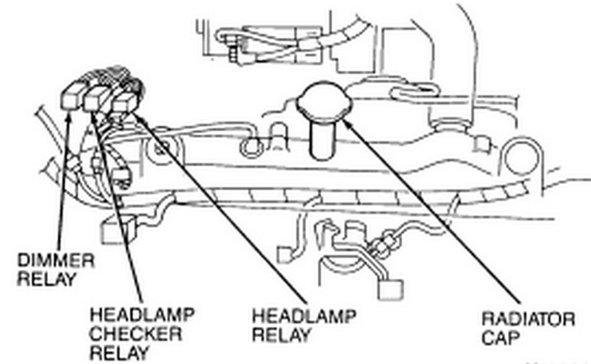 headlight low beam fuse and relay location