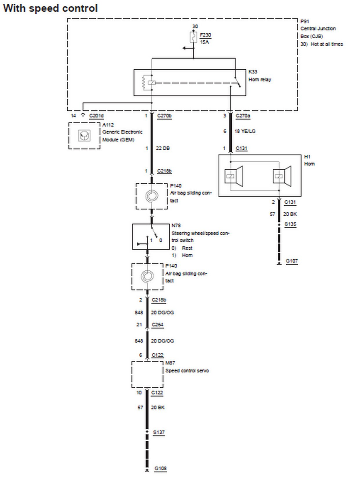 horn wiring diagram 2001 taurus get free image about horn wiring diagram with relay fiamm horn wiring diagram