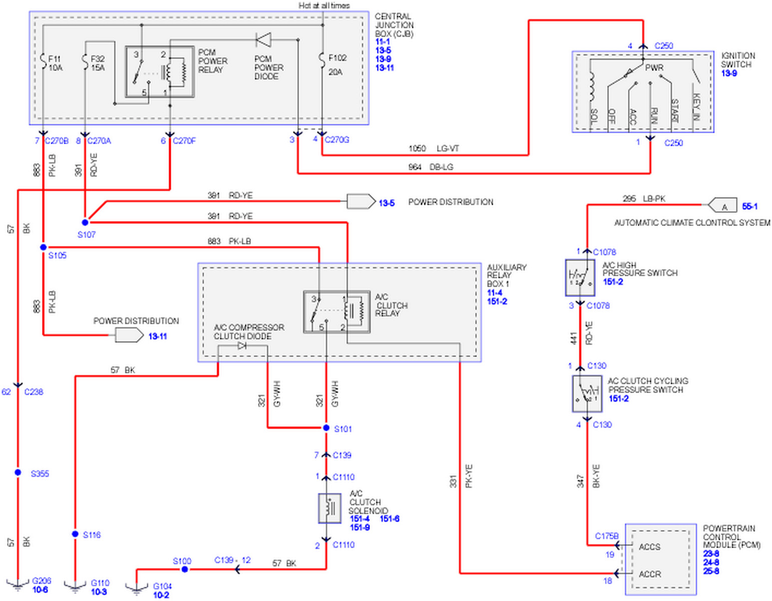2005 F150 Ac Wiring Diagram Explained Electrical Ford Radio