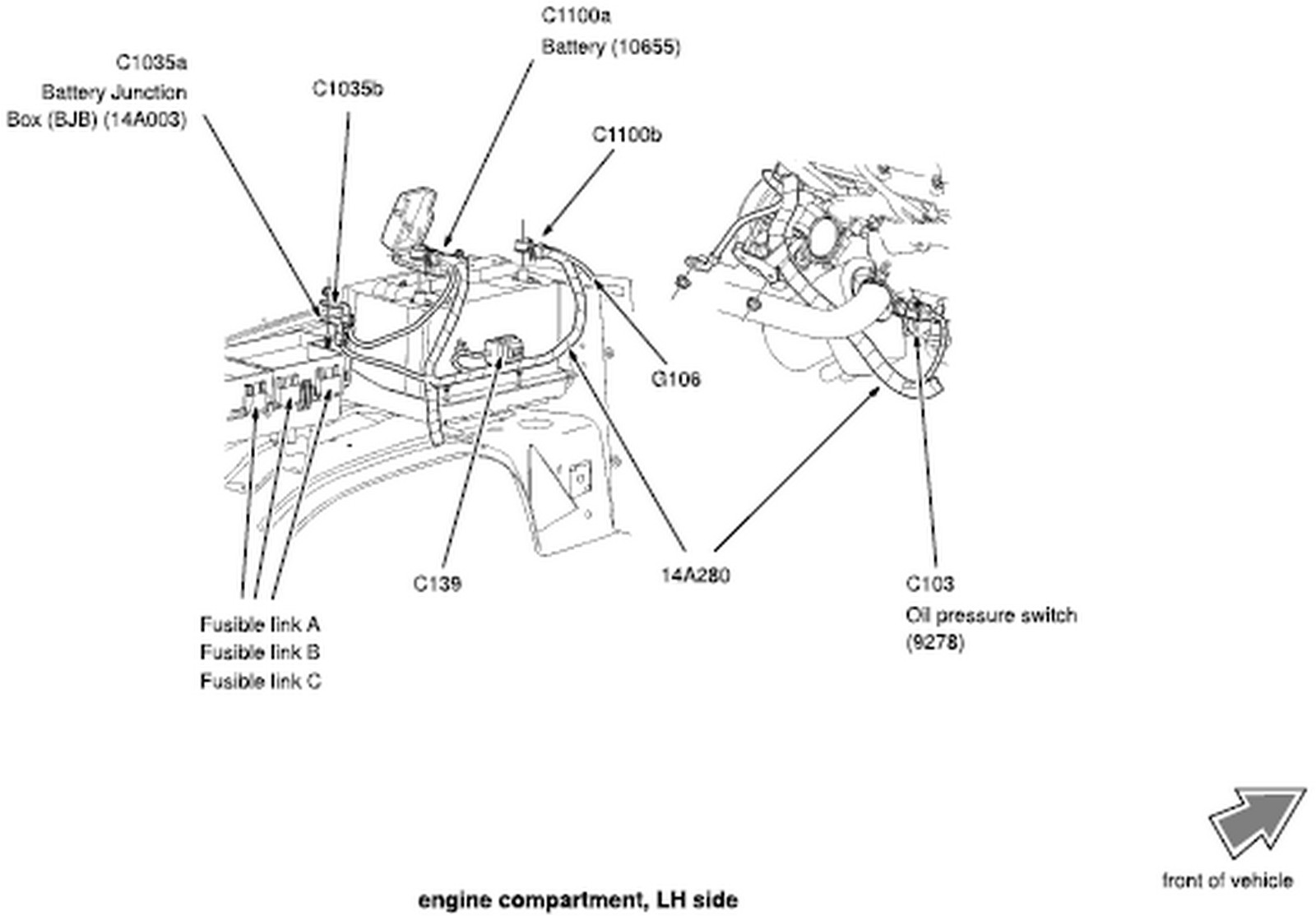 2003 ford explorer transmission diagram