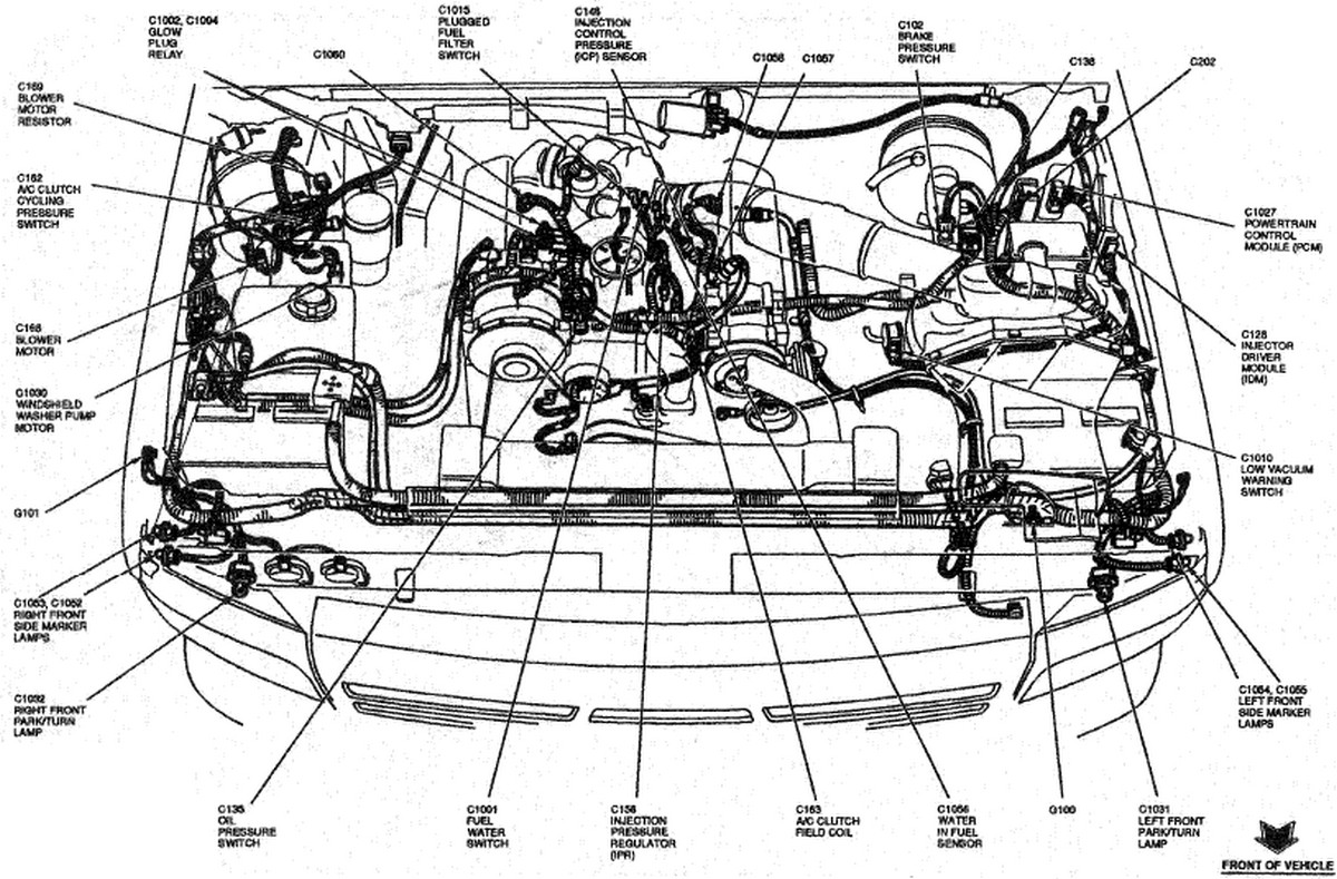 mustang 4 6 engine diagram  mustang  free engine image for