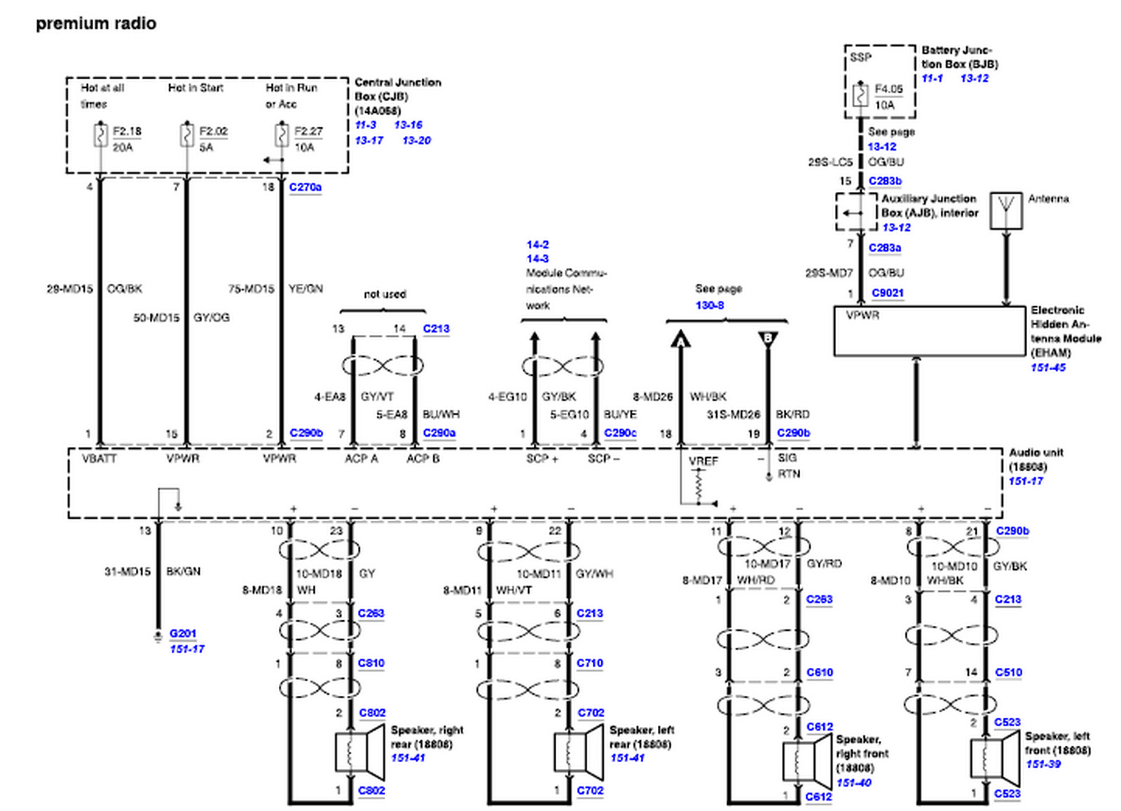ford ls 45 wiring diagram
