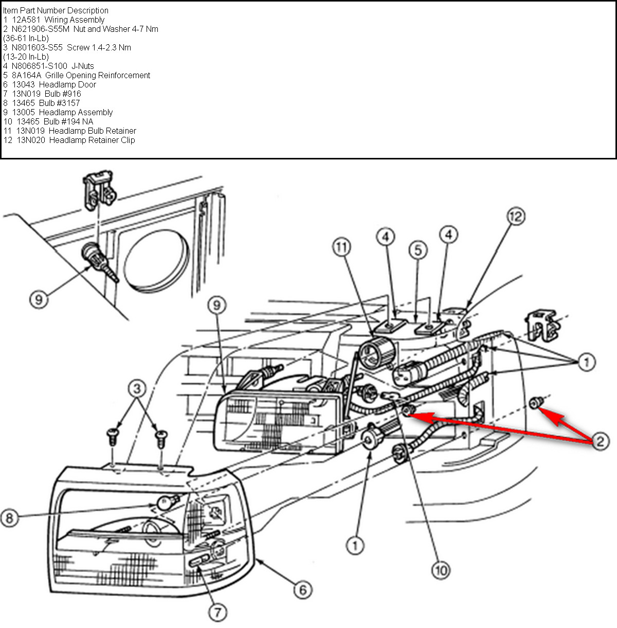 f150 radiator diagram  f150  free engine image for user