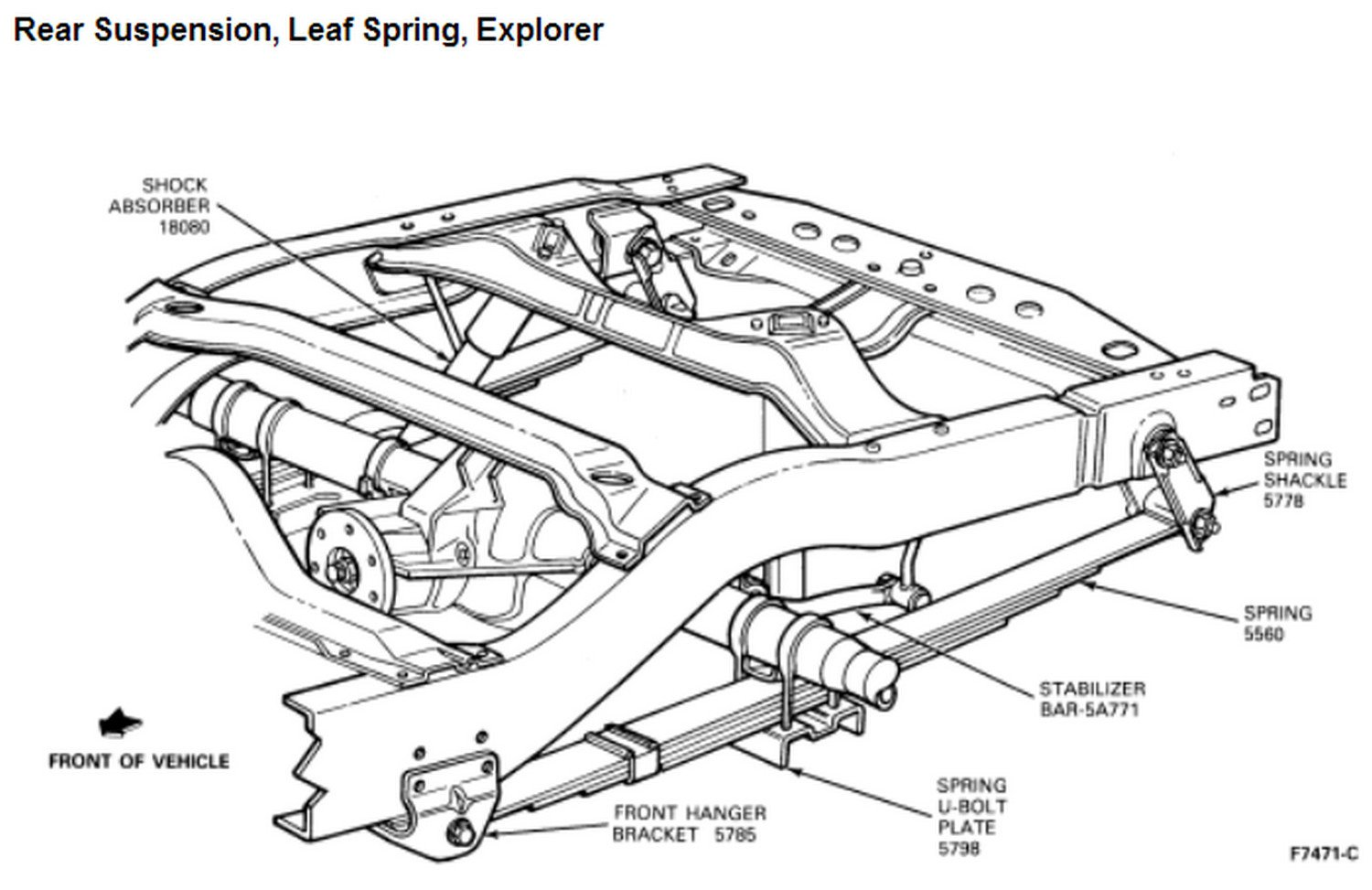 How Much Would It Cost To Replace The Rear Spring Mounts On A 1993 Ford Explorer  This Is The