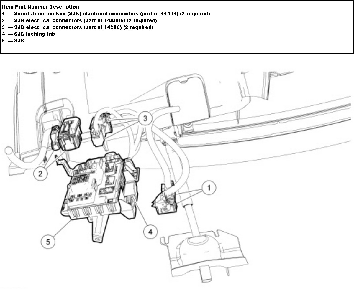 fuse location diagram lincoln mkx 2008