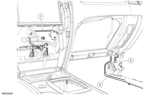 remove fender antenna 1990 ford ranger