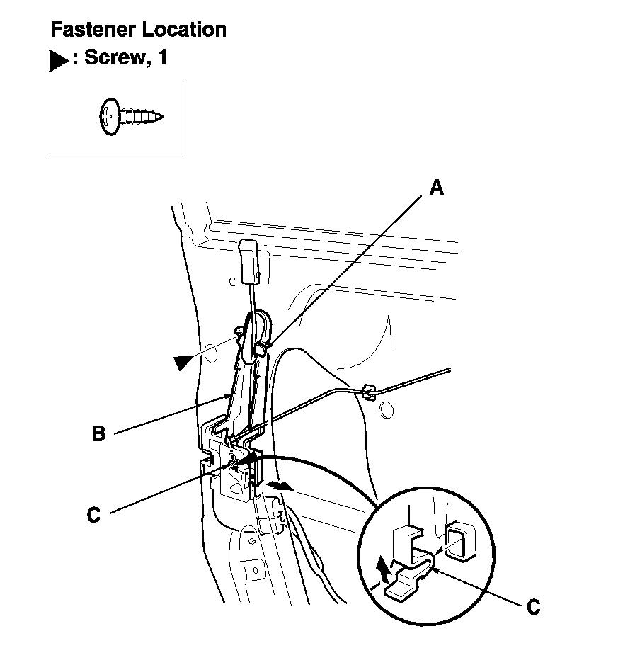 Need Diagram For Driver Door Actuator  Replacing The Actuator And Just Need To See A Diagram For