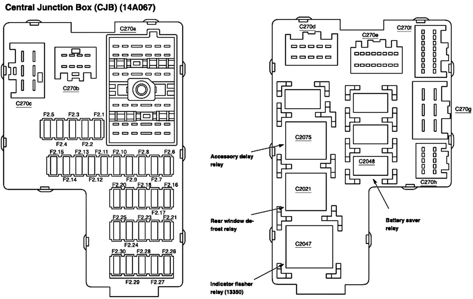 fuse box diagram for 300se 1991 merc fuse cleanjpg