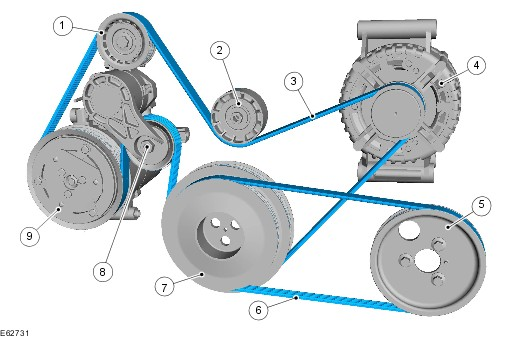 on 2002 Ford Taurus Serpentine Belt Diagram