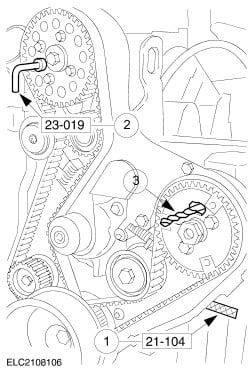 196116 Timing Mk1 Issues on Ford Cortina Mk2