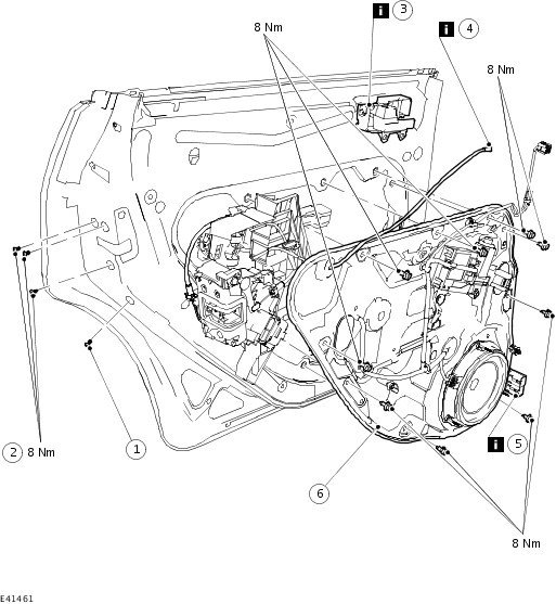 ford f 150 tailgate parts diagram 2010