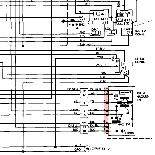 88 chevy suburban wire diagram  | 768 x 1009