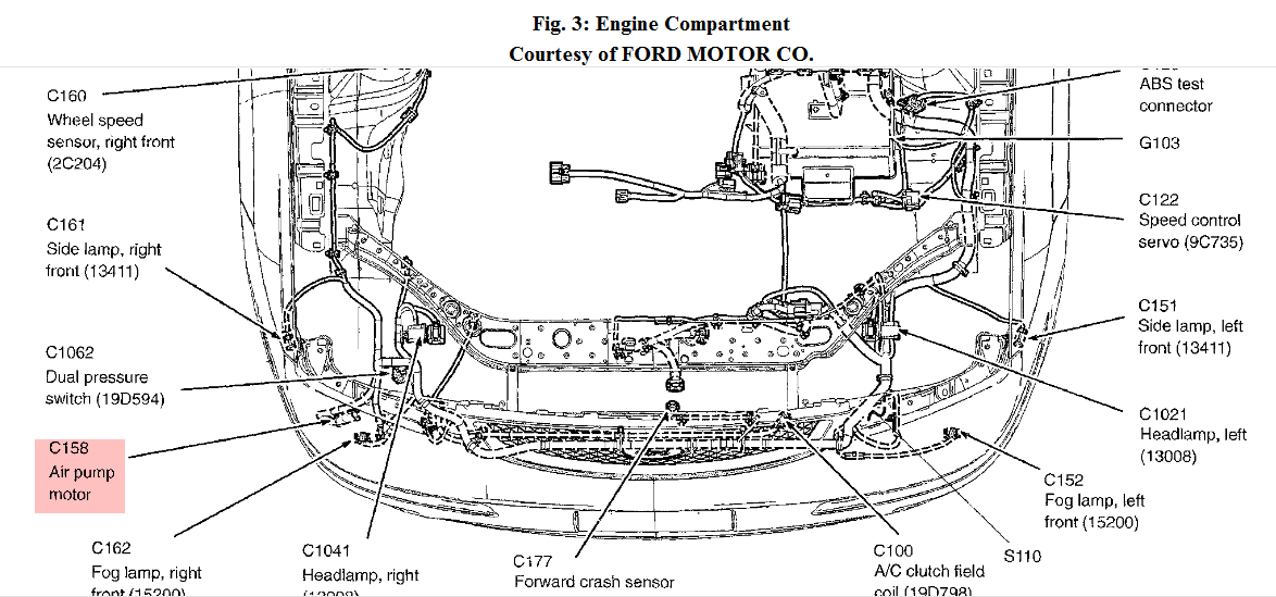 Am on 2006 Ford Fusion Serpentine Belt Diagram