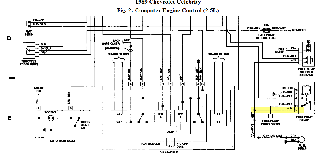 1989 chevy ac control wiring diagram