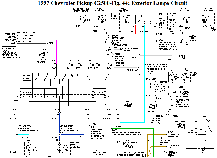 Ac Wiring Diagram Additionally 1997 Chevy Brake Light Wiring Diagram