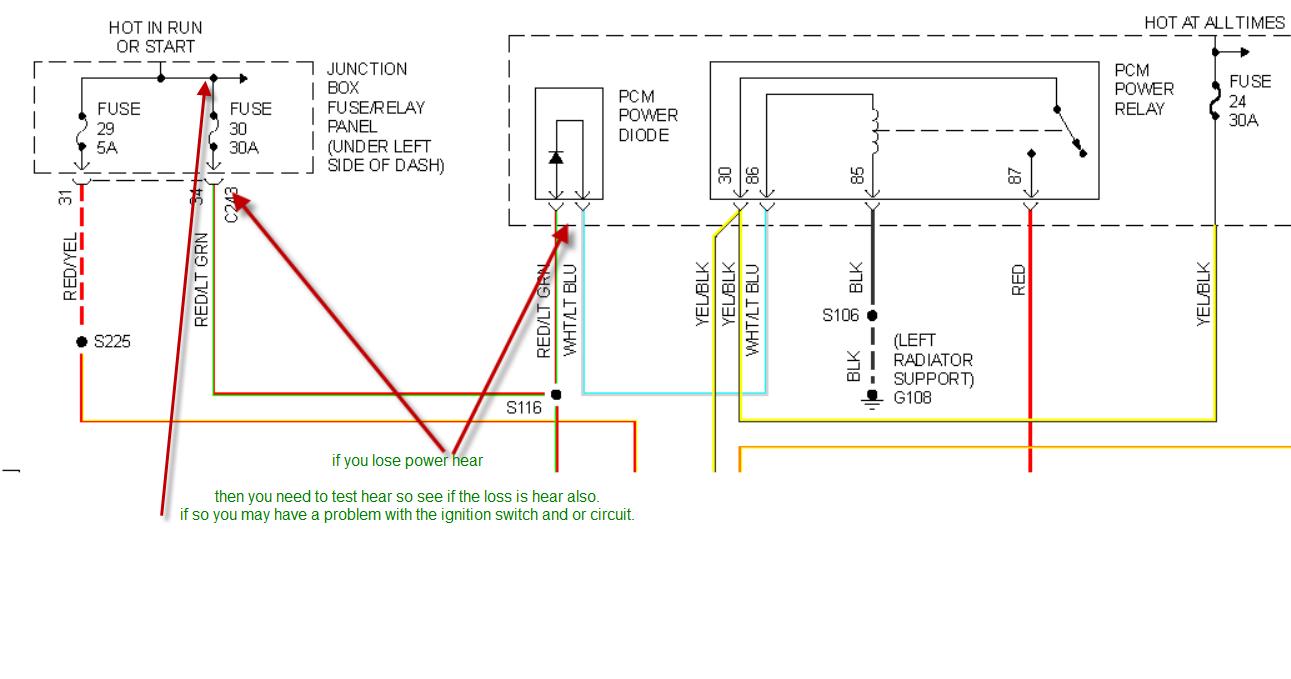 94 F150 Pcm Power Diode Html Autos Post