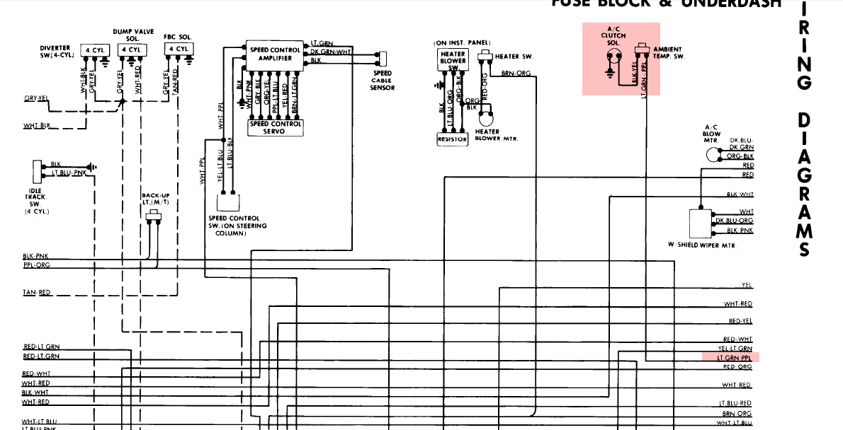 have 1982 ford granada. the air conditioner wont work. the ... 1948 ford tractor wiring diagram ford granada wiring diagram