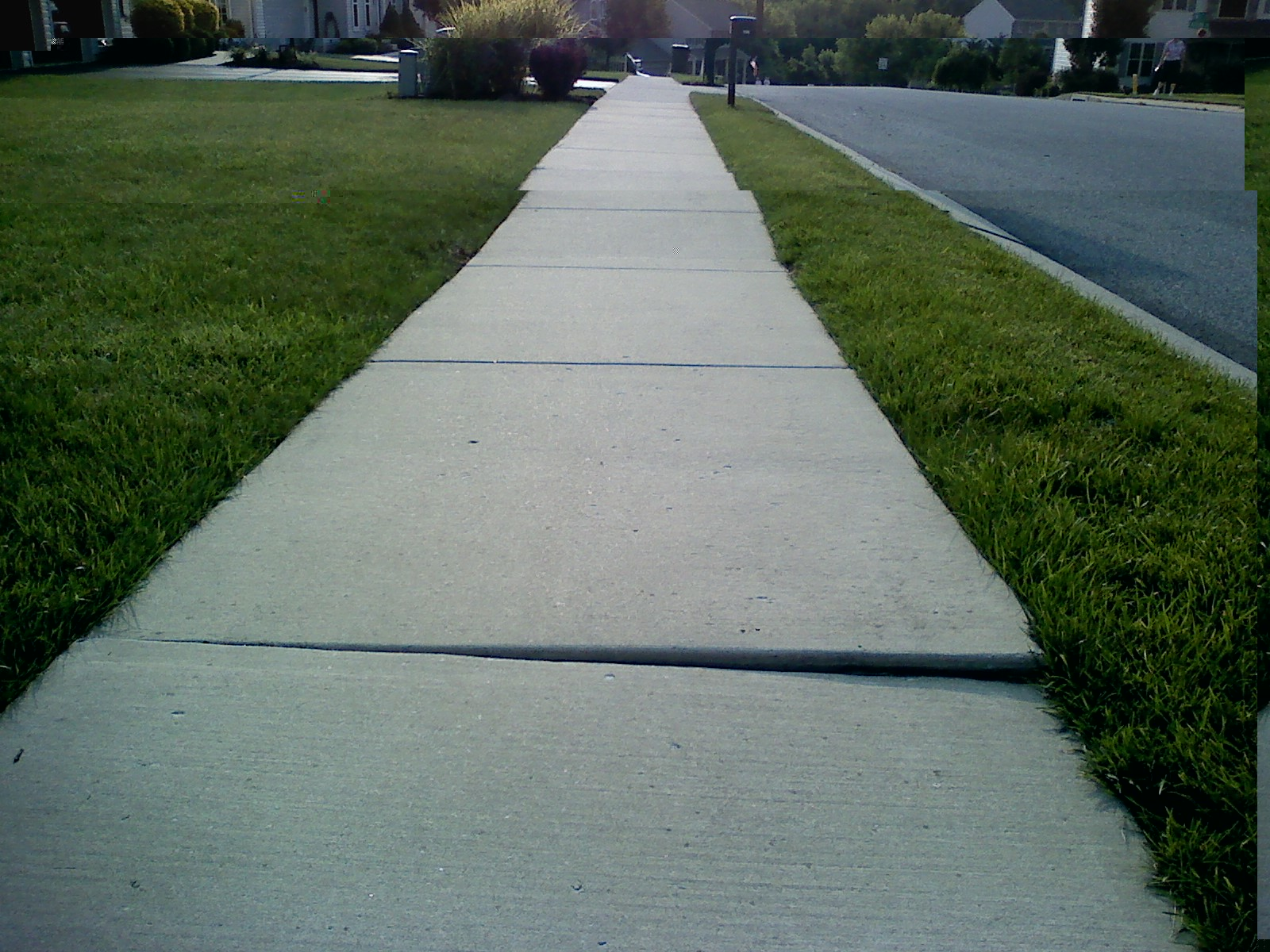 how to raise concrete sidewalk