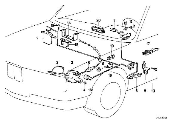 1990 Bmw 325i Fuse Box E Fuse Box Location E Wiring Diagrams