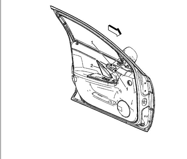 2006 chevrolet silverado door handle replace