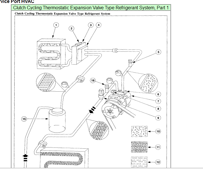 i have ran out of freon for my air conditioner in my 2003 ... 2004 ford explorer hvac diagram