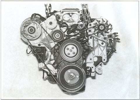 Belt on Chevy 350 Belt Routing Diagram