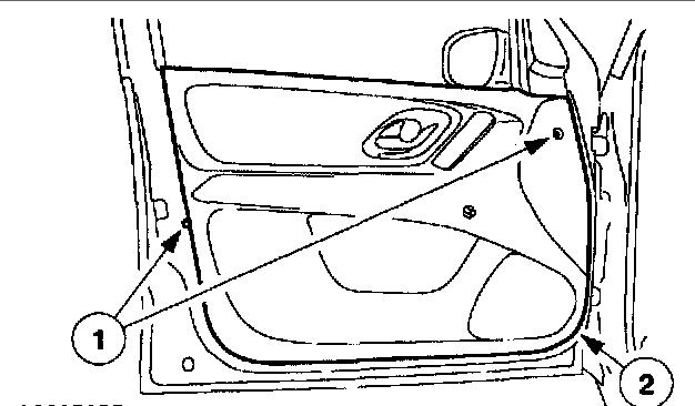 ford escape door handle diagram html