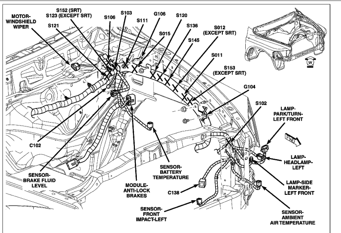 dodge caliber engine wiring diagram html