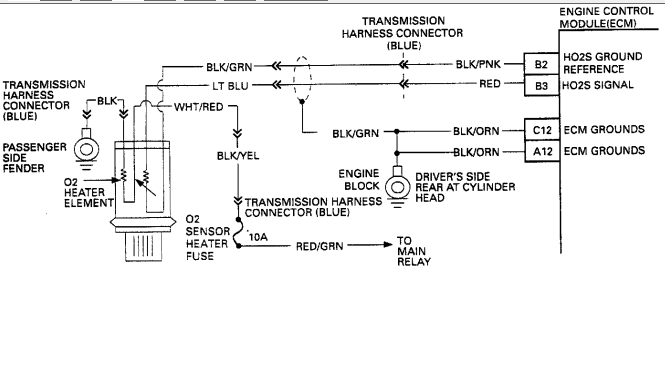 isuzu rodeo wiring harness problems isuzu image isuzu o2 sensor out on 1993 isuzu rodeo 1993 3 2 l engine on isuzu rodeo