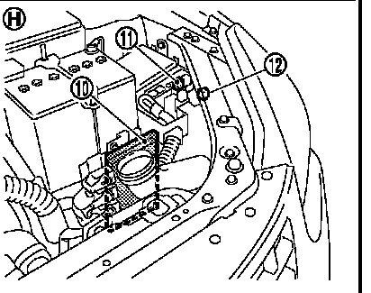 2009 Nissan Sentra Horn Wire Diagram