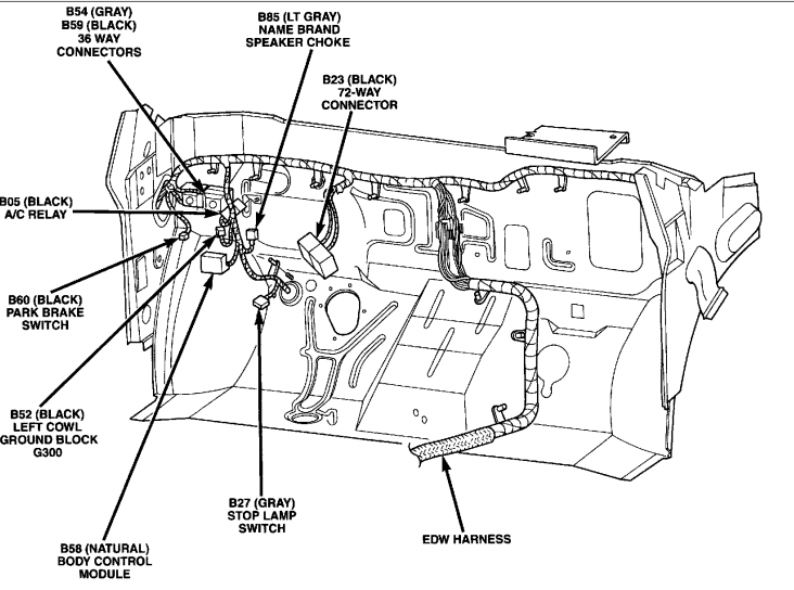2001 Cl Headlight Wiring Diagram Com